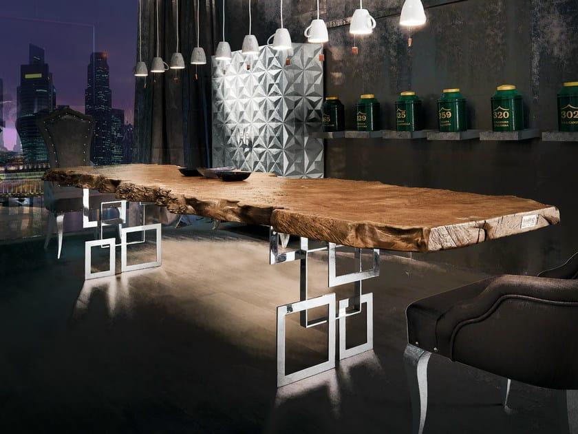 Tavolo da pranzo rettangolare in legno sidney tavolo - Tavoli da pranzo design legno ...