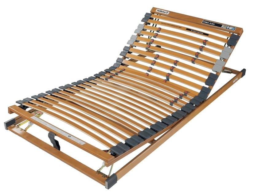 Slat Adjustable Bed Frame Crea Flex Base Frames Collection