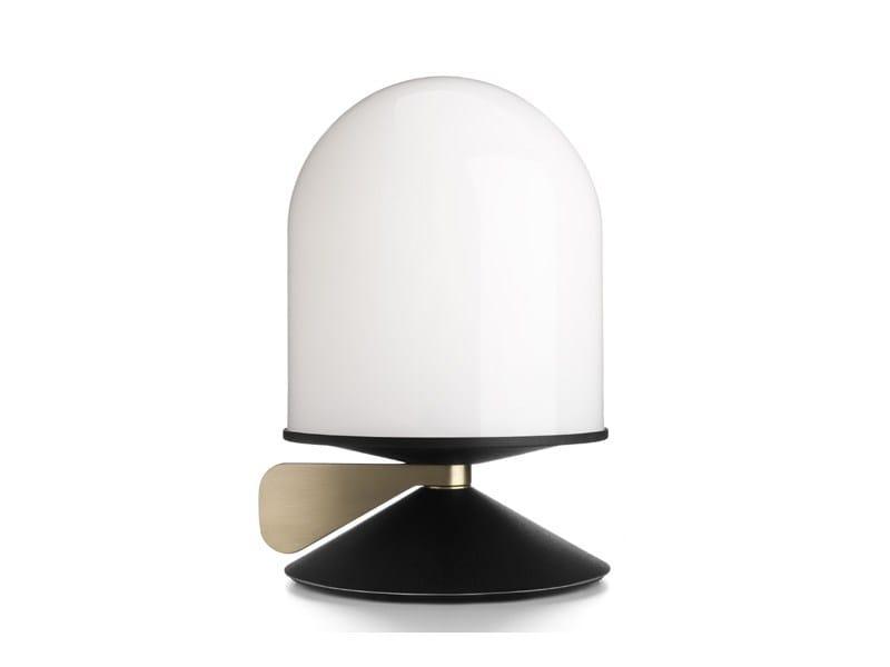 Glass bedside lamp VINGE - Örsjö Belysning