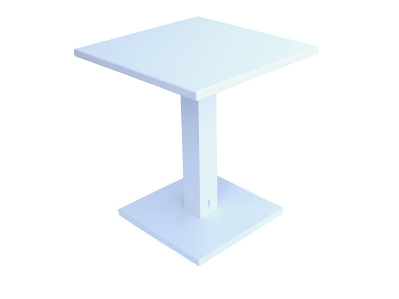 Aluminium garden table STOCKHOLM | Contract table by Sérénité Luxury Monaco