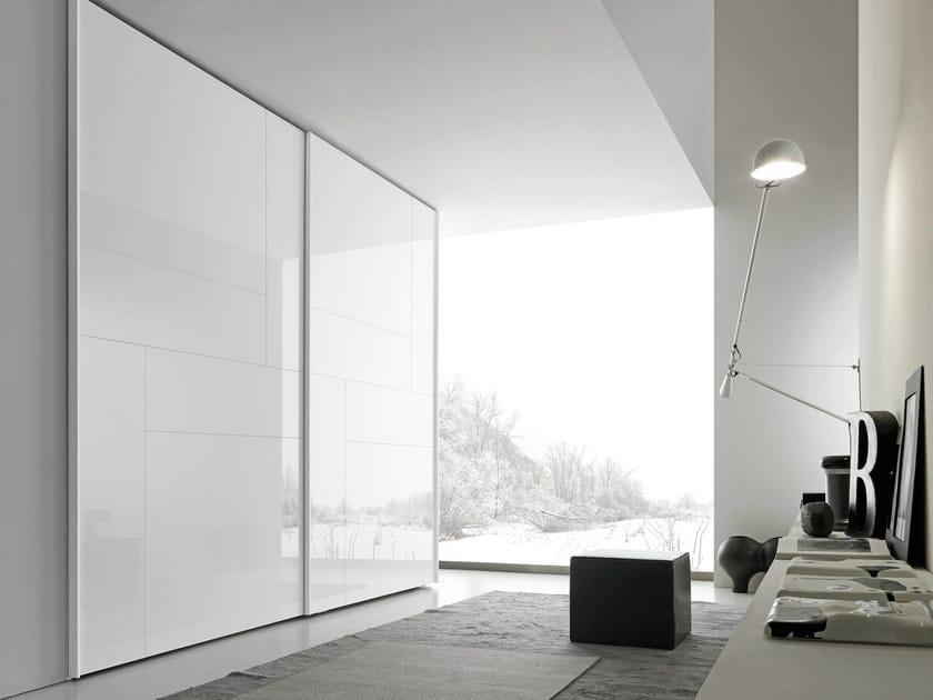 Sectional wardrobe with sliding doors Tecnopolis anta KALEIDOS - Presotto Industrie Mobili