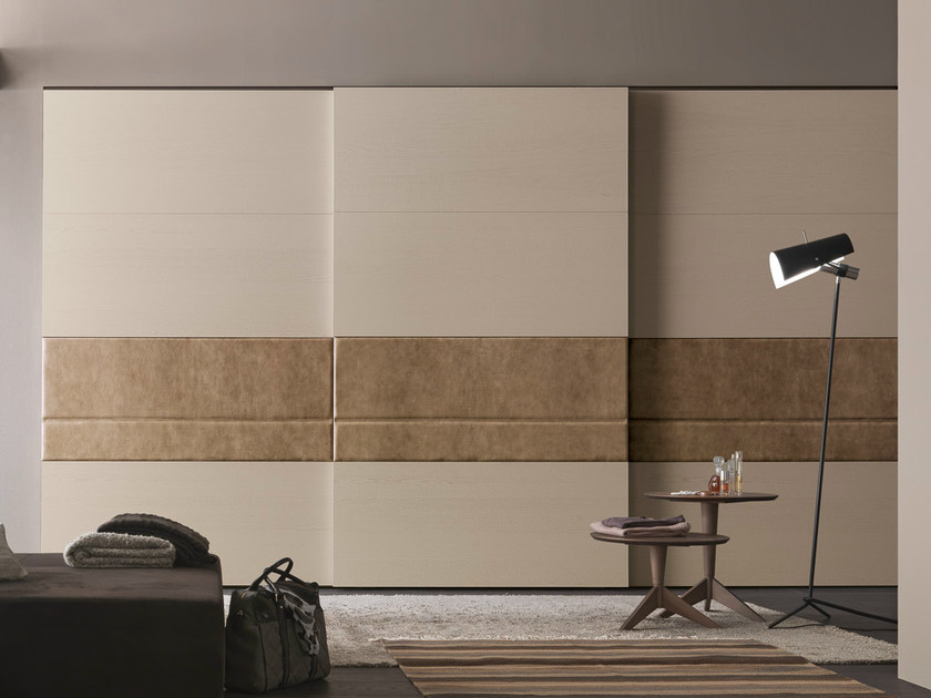 Sectional wardrobe with sliding doors Tecnopolis anta DAMA by Presotto