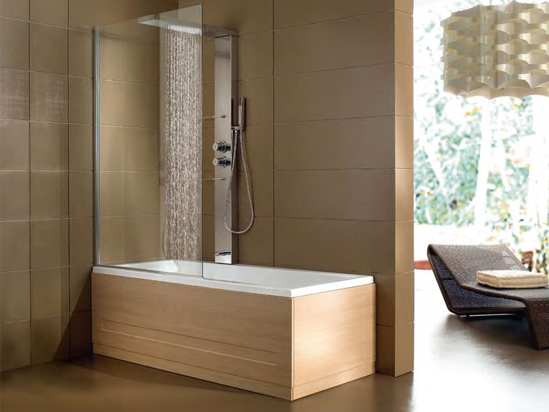 whirlpool badewanne mit dusche era plus box by hafro. Black Bedroom Furniture Sets. Home Design Ideas