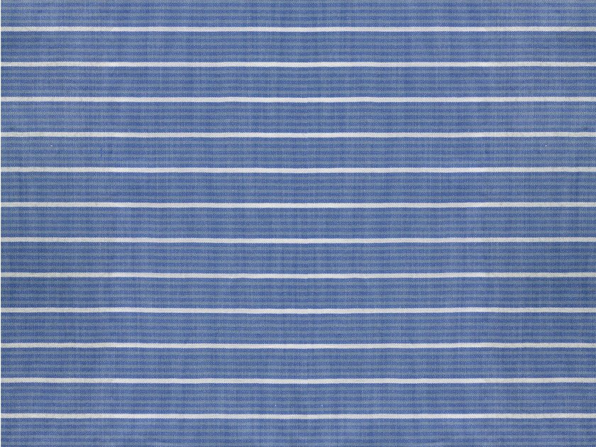 Striped cotton fabric KING'S COLLEGE by KOHRO