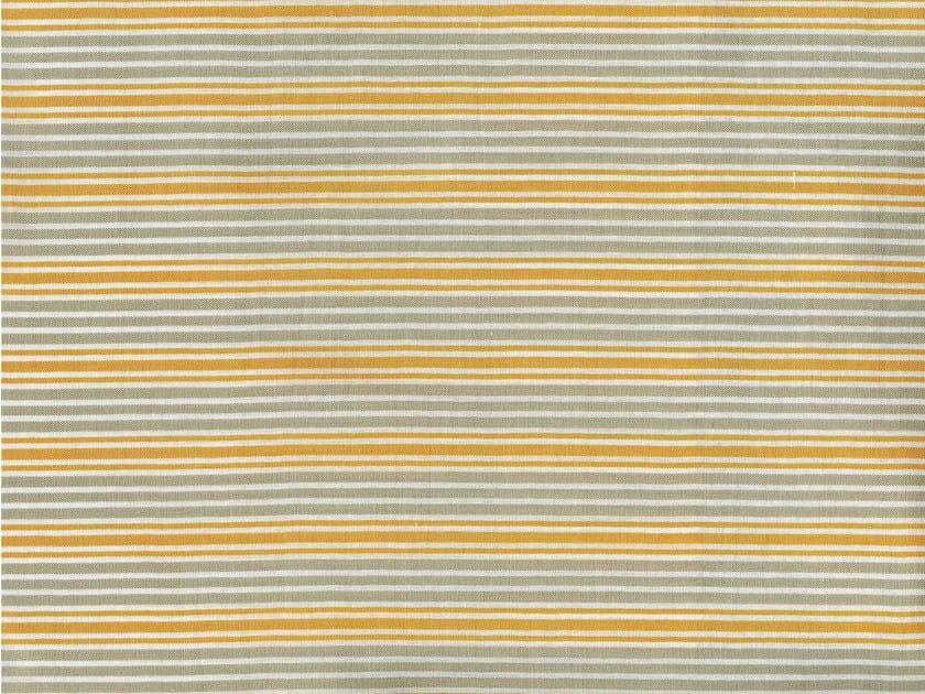 Striped cotton fabric OBERLIN - KOHRO