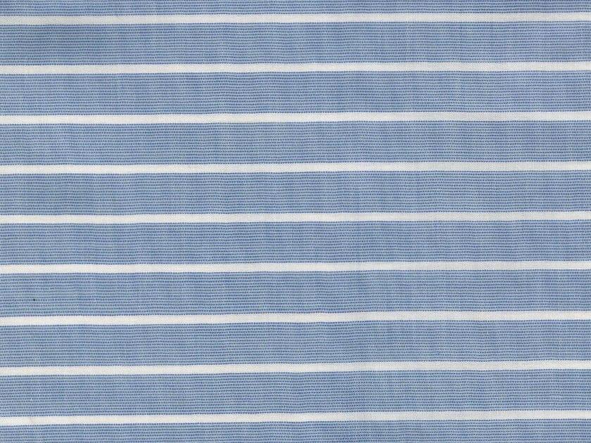 Striped cotton fabric NYACK - KOHRO
