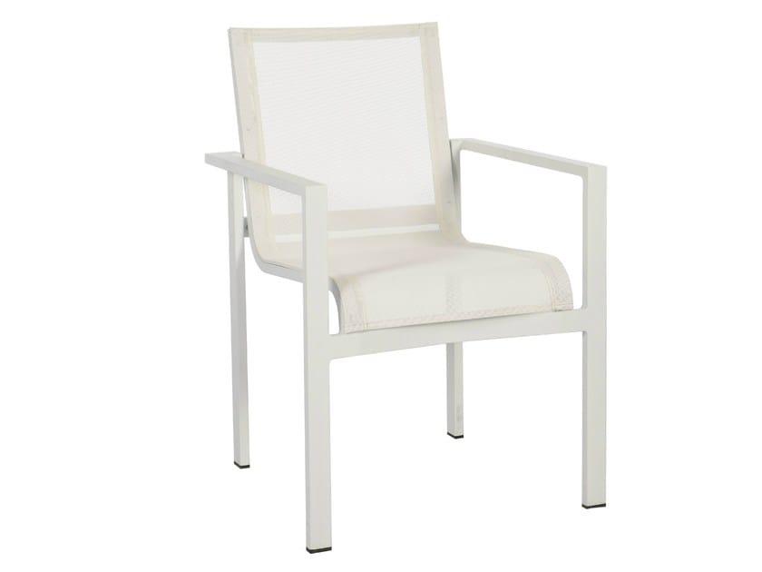 Stackable Batyline® garden chair STOCKHOLM | Garden chair - Sérénité Luxury Monaco