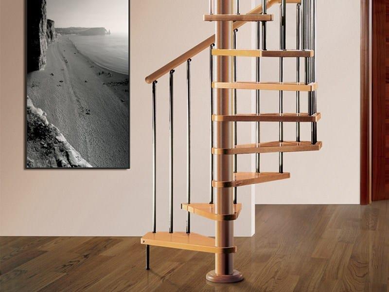 Scala a chiocciola in legno tekla rintal for Rintal scale prezzi