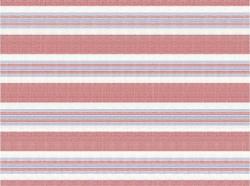 Striped cotton fabric OAKLAND by KOHRO