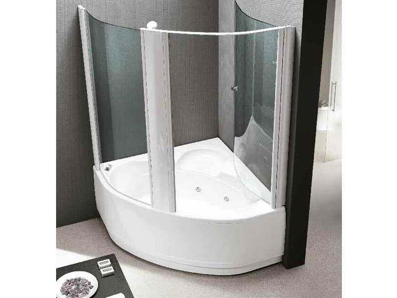 Parete Per Vasca Da Bagno Angolare : Parete vasca da bagno leroy merlin. un bagno grande con pareti