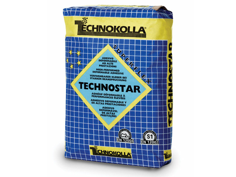 Cement-based glue TECHNOSTAR - TECHNOKOLLA - Sika