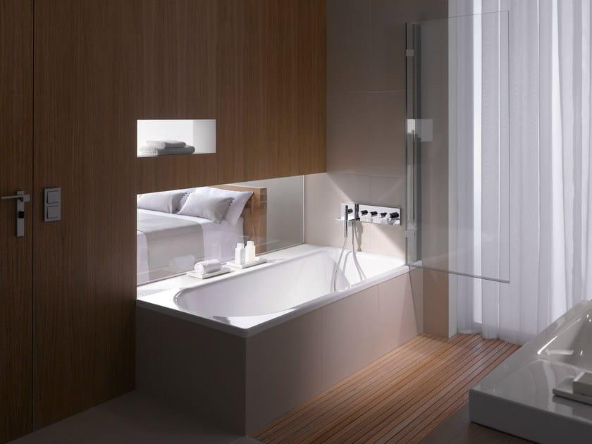 Vasca da bagno in acciaio smaltato con doccia betteocean bette - Vasche da bagno in acciaio smaltato ...