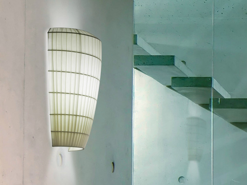 Fluorescent fabric wall light BELL | Wall light - AXO LIGHT