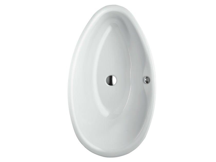 Vasca da bagno in acciaio smaltato da incasso bettepool oval bette - Vasche da bagno in acciaio smaltato ...