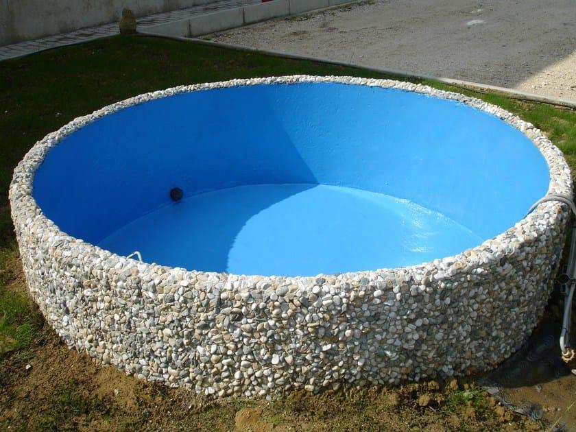 rivestimento gomma per piscine