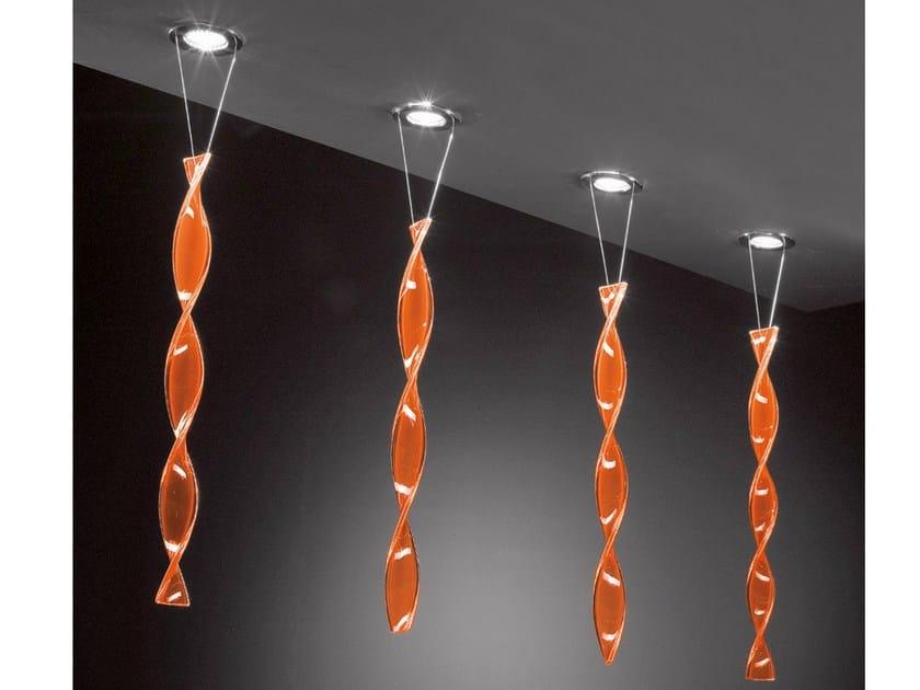 Halogen recessed Murano glass spotlight AURA | Spotlight - AXO LIGHT