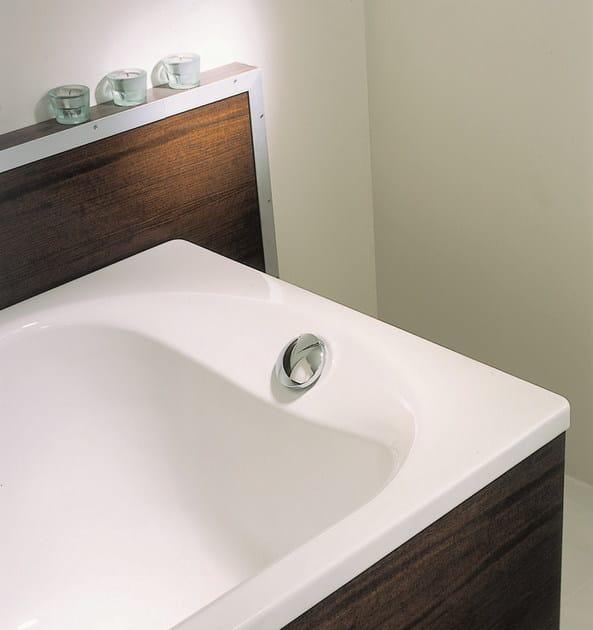 Vasca da bagno in acciaio smaltato da incasso bettepur bette - Vasche da bagno in acciaio smaltato ...