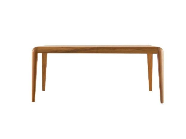 Extending rectangular wooden table CAPRI   Extending table - COLLI CASA