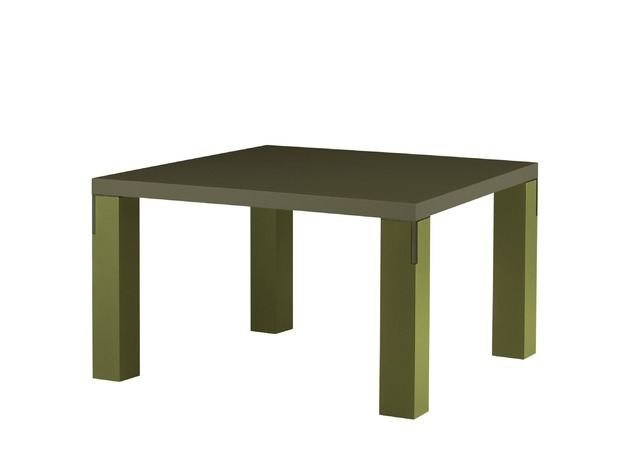 Lacquered square table FIRENZE | Lacquered table - COLLI CASA