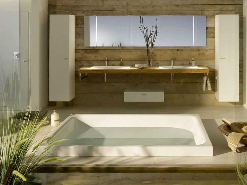 2 seater enamelled steel bathtub BETTESPA | 2 seater bathtub - Bette