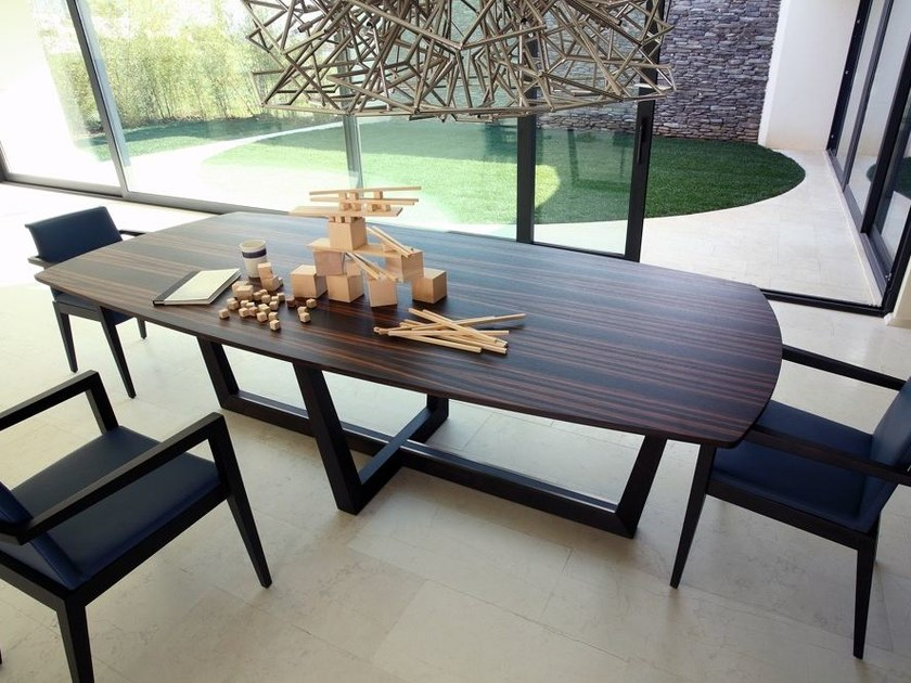 Rectangular wooden table TORINO | Wooden table by COLLI CASA