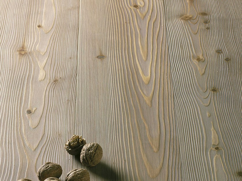 Knotted larch varnished clay parquet LARCH PLANKS | Larch parquet - CADORIN GROUP