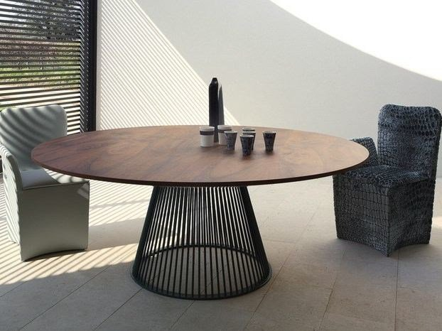 Tavolo rotondo in stile moderno venezia tavolo rotondo for Tavolo rotondo legno chiaro
