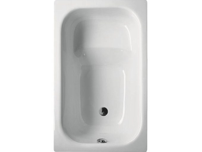 Seated rectangular bathtub BETTEHIP BATH - Bette