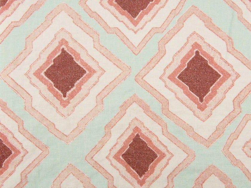 Check linen fabric SHANNYN - KOHRO