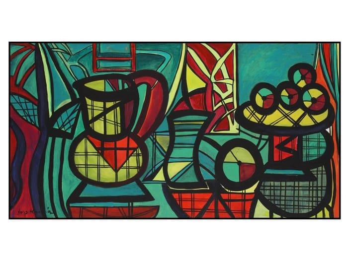 Contemporary style decorative painting LES FRUITS DE MADAME - COLLI CASA