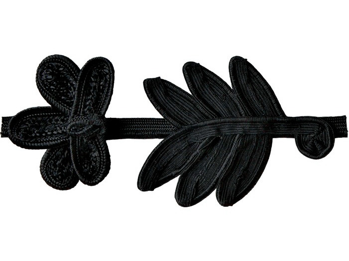 Fabric trimmings BLACK DAISY - COLLI CASA