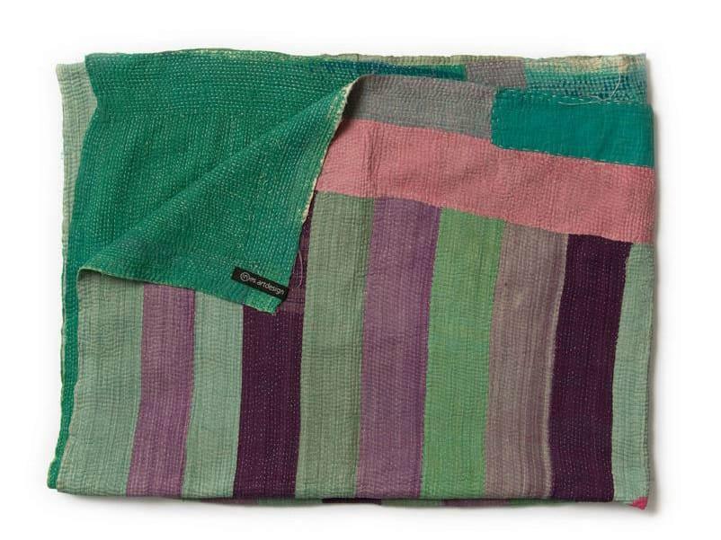 Patchwork cotton lap robe PLAID - In-es.artdesign
