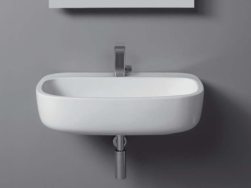 Wall-mounted ceramic washbasin MONO' | Wall-mounted washbasin - CERAMICA FLAMINIA