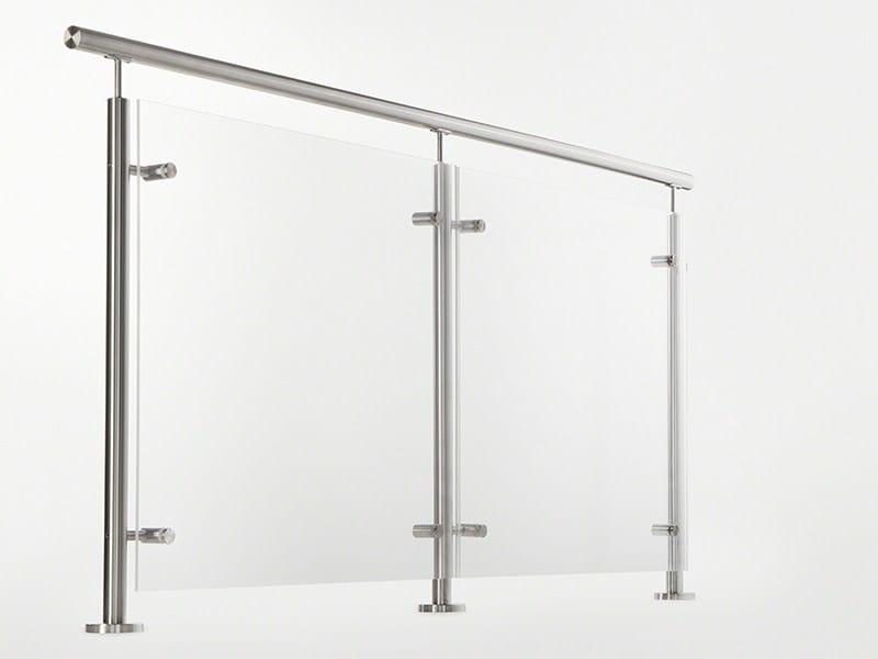 Glass and steel Window railing ULTRA RANGE | Balustrade - Q-RAILING ITALIA
