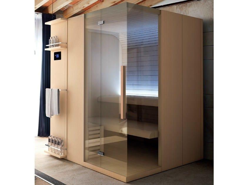 Finnish sauna for chromotherapy CUNA | Sauna - HAFRO