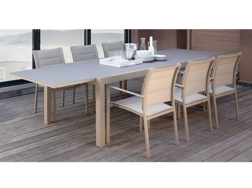 Tavolo allungabile da giardino rettangolare sense tavolo - Tavolo rettangolare allungabile ...