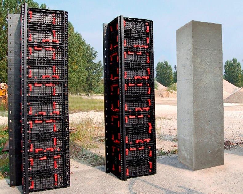 schalung und schalungssystem f r beton geopanel star by geoplast. Black Bedroom Furniture Sets. Home Design Ideas
