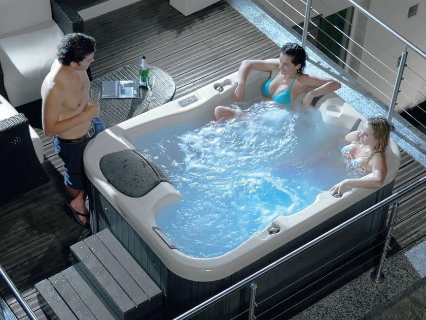 Hydromassage hot tub 3-seats SUN - GRUPPO GEROMIN