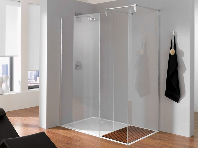Crystal shower wall panel BETTENTRY | Shower wall panel - Bette