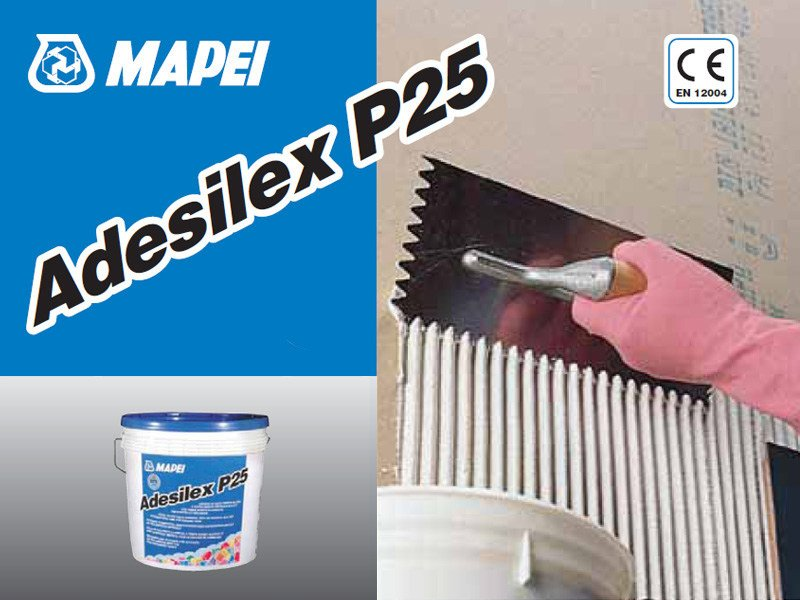Glue and mastic ADESILEX P25 - MAPEI