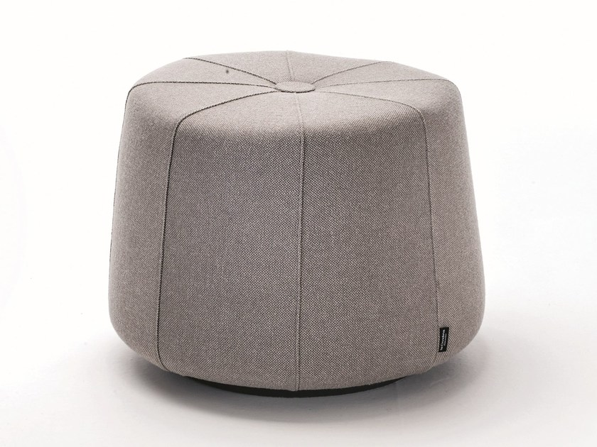 Fabric pouf with fire retardant padding WINDMILL | Contemporary style pouf - La Cividina