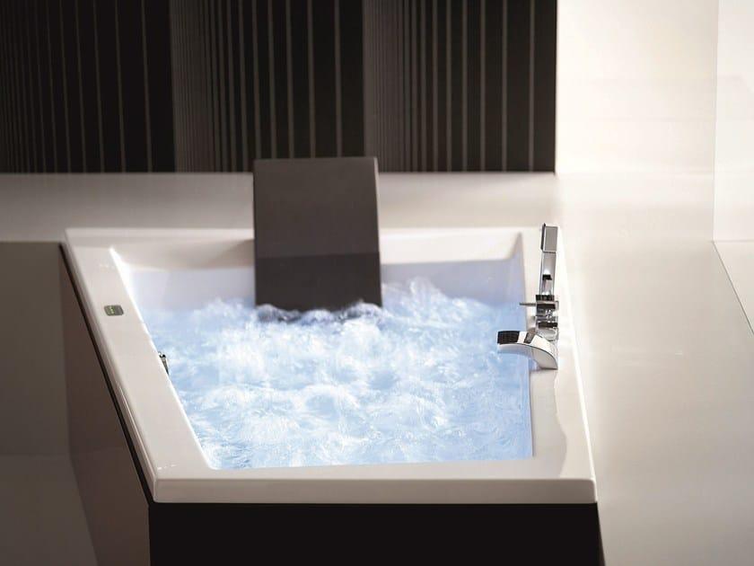 Vasca da bagno idromassaggio in legno era plus 180 x 120 70 gruppo geromin - Vasca da bagno 120x70 ...