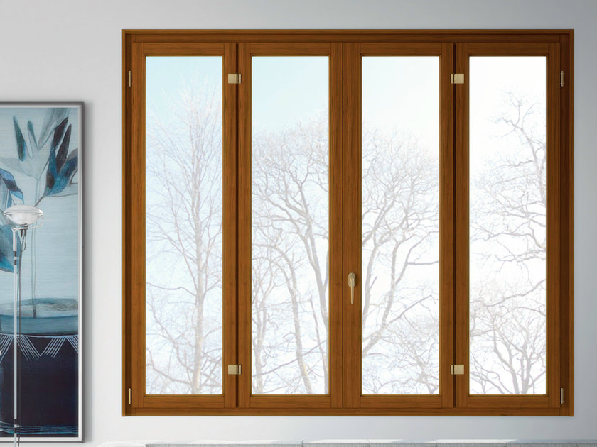 Wooden casement window BASIC | Casement window - BG legno