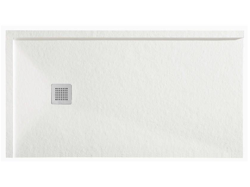 Anti-slip rectangular resin shower tray FORMA FRAME - GRUPPO GEROMIN
