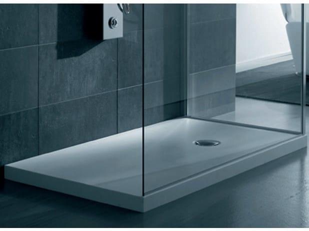 Piatto doccia rettangolare in corian piatto doccia - Piatto doccia 140x90 ...