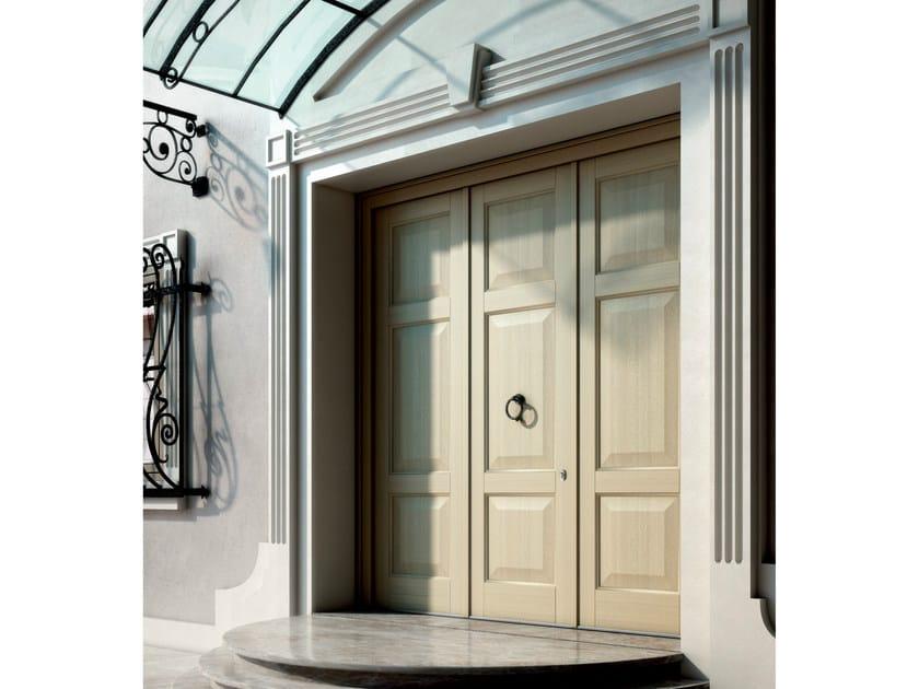 Exterior wooden entry door ALASKA | Entry door - BG legno
