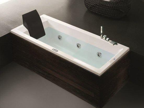 Vasca da bagno idromassaggio rettangolare in acrilico era plus 190x90 hafro - Produttori vasche da bagno in acrilico ...