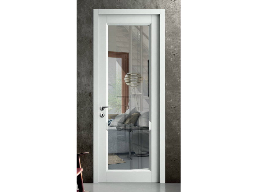 Hinged glass door FIRENZE | Glass door - BG legno