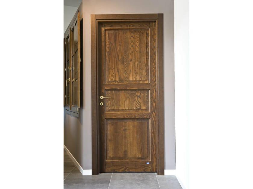 Hinged wooden door FIRENZE | Wooden door by BG legno