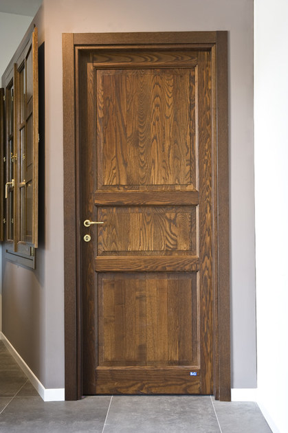 Porta a battente in legno FIRENZE | Porta in legno - BG legno